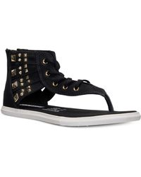 Converse Chuck Taylor Gladiator Thong Sandals From Finish Line - Lyst