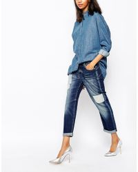 Sportmax Code - Echi Jeans With Patchwork - Lyst