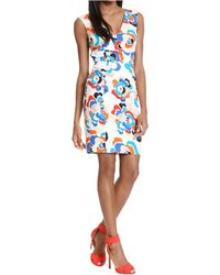 Plenty by Tracy Reese Printed Shift Dress - Lyst