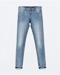 Zara Low Rise Skinny Jeans - Lyst