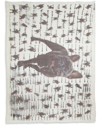 Yigal Azrouel Raining Dogs Modal  Cashmere Scarf - Lyst