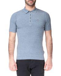 Diesel Polo Shirt - 00Sgbk00Wdek-Chamelia Sweater blue - Lyst