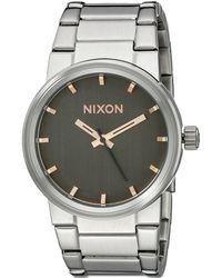 Nixon The Cannon gray - Lyst