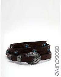 Asos Studded Gem Waist and Hip Belt - Lyst