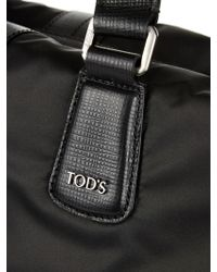 Tod's - Nylon And Leather Tote - Lyst