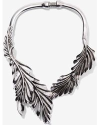 Nasty Gal | Grow Up Leaf Necklace | Lyst