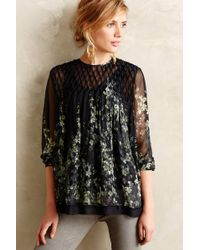 Zimmermann Pedra Peasant Top - Lyst