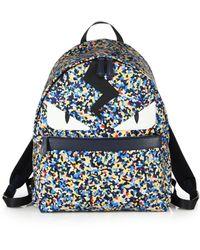 Fendi | Granite-print Monster Backpack | Lyst