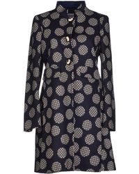 RED Valentino Dotty Trench Coat - Lyst
