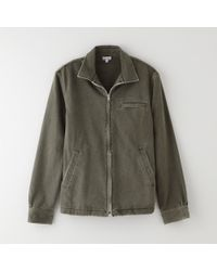 Steven Alan Zip Up Shirt Jacket - Lyst