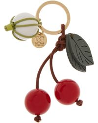 M Missoni - Embellished Cherry Key Fob - Lyst