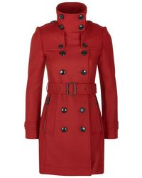 Burberry Brit | Daylesmoore Wool-cashmere Trench Coat | Lyst