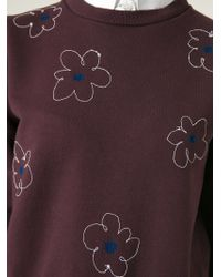 Jimi Roos - Floral-Embroidered Sweatshirt - Lyst