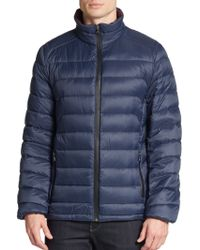 Michael Kors Down-Filled Quilted Puffer Jacket - Lyst