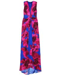 Thakoon Vneck Plunge Front Gown - Lyst
