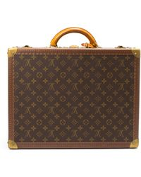 Louis Vuitton Monogram Cotteville 45 Suitcase - Lyst