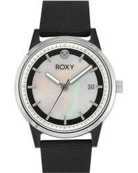 Roxy - 'the Abbey' Nylon Strap Watch - Lyst
