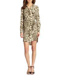 Diane Von Furstenberg Prita Shirt Dress - Lyst