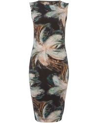 Pied A Terre Printed Tube Dress - Lyst