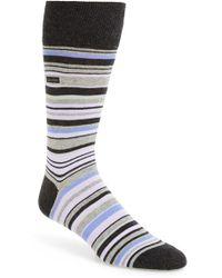 Calvin Klein Multistripe Emblem Socks - Lyst