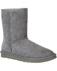 Ugg Classic Short Boot gray - Lyst