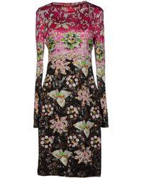 Mary Katrantzou Kneelength Dress - Lyst
