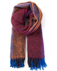 DSquared2 Colour Block Scarf - Lyst