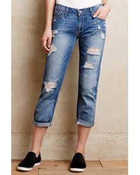 Paige Jimmy Jimmy Crop Jeans - Lyst