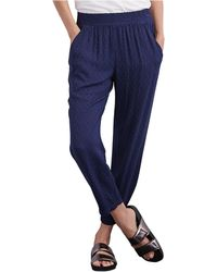 Velvet By Graham & Spencer | Relaxed Jacquard Pants | Lyst
