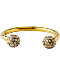 Camille K - Signature Pave Perle Cuff - Lyst