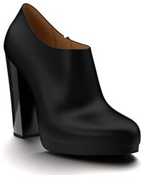 Shoes Of Prey - Leather Platform Ankle Boots - Lyst