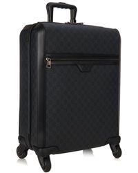 Gucci Monogram Gg Trolley Suitcase - Lyst