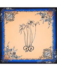 Emma J Shipley Amazon Palms Printed Silk Scarf - Lyst