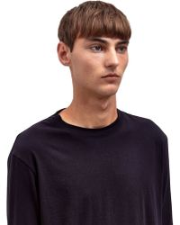 Damir Doma Mens Trent Long Sleeved Light Jersey Top - Lyst