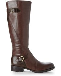 Franco Sarto Brown Perk Riding Boots - Lyst