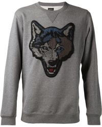Diesel Gray Fox Sweatshirt - Lyst