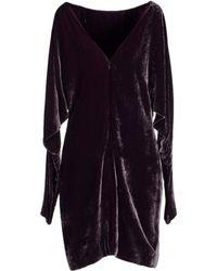 Ralph Lauren Collection Short Dress - Lyst