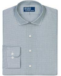 Ralph Lauren Polo Black And White Check Dress Shirt - Lyst