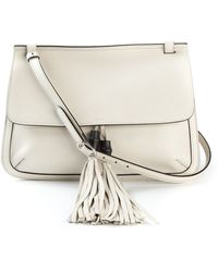 Gucci Tassel Detail Shoulder Bag - Lyst
