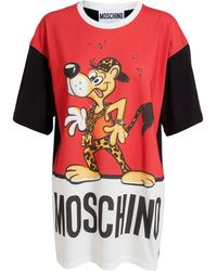 Moschino Oversized Cheetos Tshirt - Lyst