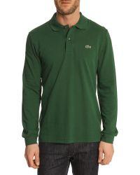 Lacoste 12.12 Original Green Polo Shirt - Lyst