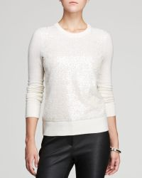 Kate Spade Sequin Front Sweater - Lyst