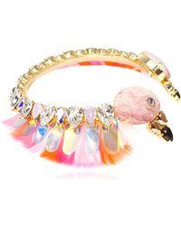 Bijoux De Famille - Pink Flamingo Choker - Lyst