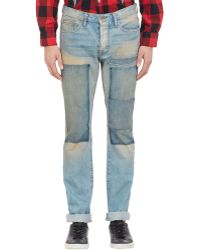 Bliss and Mischief - Patchwork Jeans - Lyst