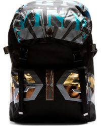 Juun.j Black Cant Knock The Hustle Backpack - Lyst