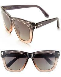 tom ford celina 55mm polarized sunglasses lyst