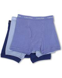 Calvin Klein Cotton Classic Boxer Brief 3pack - Lyst