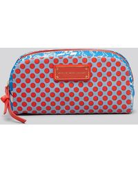 Marc By Marc Jacobs - Cosmetic Case Coated Canvas Doodle Dots - Lyst