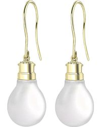 Theo Fennell - 18ct Gold Halogen Light Bulb Earrings - Lyst