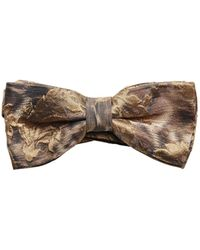 Lords & Fools - Embossed Techno Jacquard Bow Tie - Lyst
